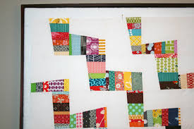 FITF: scrappy zig zag | Film in the Fridge & I fell in love with this wonky zig zag quilt after first seeing it at ting  tong and things, and thought that it might be a fun project to use up some  ... Adamdwight.com