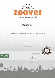 menaville in 2013 menaville resort received the 2nd recommendation certificate from the web site zoover holiday reviews as recognition of the good reviews left by