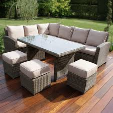 corner dining furniture. maze rattan winchester kingston corner dining set furniture