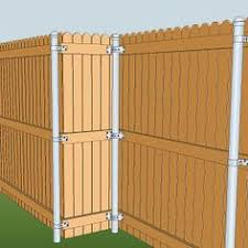 metal fence post. Avoid Rotting Fence Posts; We Make It Easy To Build With Steel. Metal Post