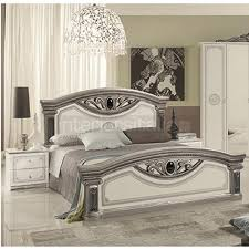 white italian bedroom furniture. Giulia - Classic Italian Bed White Bedroom Furniture