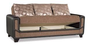 mondo modern brown convertible sofa bed by casamode