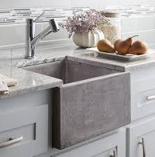 Tap Designs For Kitchens Stylish Concrete Sinks Designed To Energize The Kitchen And Bath