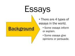 the best and worst topics for four types of essays 4 main types of essays examples immopriority