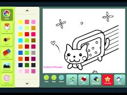 Small Picture Nyan Cat Coloring Page YouTube