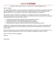 Leading Professional Salesperson Cover Letter Examples & Resources ...