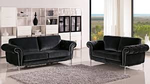 charcoal amora sofa set with armchair  zuri furniture