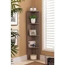wooden corner shelves furniture. Beautiful Furniture Ku0026ampB BK19 Grey Wood Corner Bookcase And Wooden Shelves Furniture