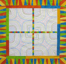 9 Exciting Border Ideas for Quilt Patterns & Brightly Colored Improve Pieced Quilt Adamdwight.com