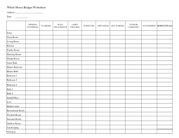 Sample Church Budget Spreadsheet Free Download Excelble Household ...