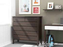 Modern Bedroom Furniture Melbourne Dandenong Chest Of Drawers Tallboys Brown B2c Furniture
