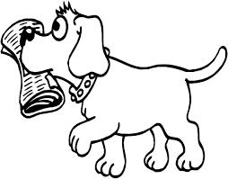 Cani Da Colorare E Stampare Per Bambini Fredrotgans