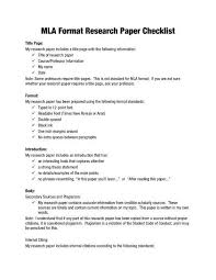 Mla Style Research Paper Sample Google Search 11th Grade Format