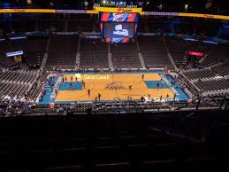 Chesapeake Arena Seating Chart With Rows Chesapeake Energy Arena Seating Chart Seatgeek