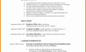 Philippine Resume Format Fresh 10 College Student Pdf Throughout