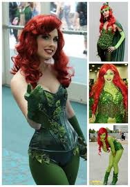 our poison ivy cosplay