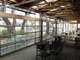 glass garage doors restaurant and design how glass garage doors open up interior spaces for