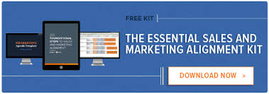 sales kit template the essential guide to sales marketing alignment free kit