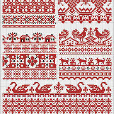 Fair Isle Inspired Cross Stitch Pattern For Everyones Style