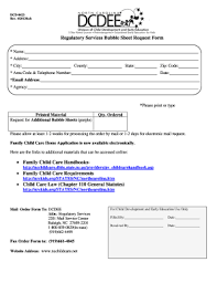 Emergency Form For Daycare 21 Printable Emergency Contact Form For Daycare Templates
