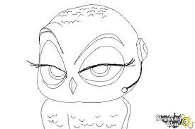 Small Picture How to Draw Eva from The Penguins Of Madagascar DrawingNow