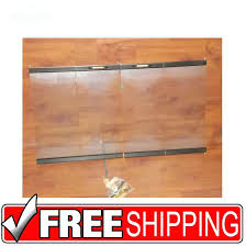 temco fireplace black trim tempered glass fireplace doors temco fireplace refractory panels