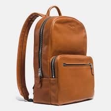 promo code for lyst coach hudson backpack in sport calf leather in brown for men 3f905
