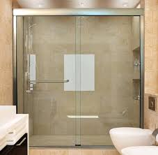 treated glass shower doors new sliding shower doors intended for custom showers and bathtubs idea 5 treated glass shower doors