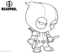 Deadpool Coloring Sheets Printable Deadpool Coloring Sheets