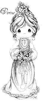 Precious Moments Coloring Page S