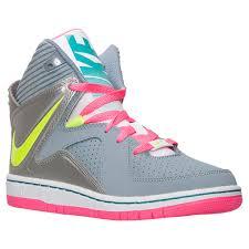 nike basketball shoes for girls blue. girls\u0027 nike court invader basketball shoes magnet grey/volt/metallic silver outlet online for girls blue s