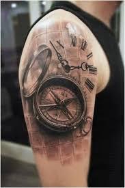 Fotografie A Význam Tattoo Kompas