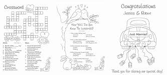 activity books for kids unique free wedding coloring p good personalized wedding coloring books for