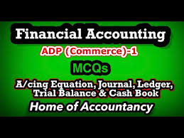 mcqs of financial accounting