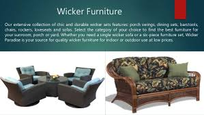 Wicker Paradise Perfect Place To Buy Furniture line