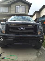 F150 Ecoboost Light Bar Led Lightbar Mounting Options Locations In 2014 Lariat