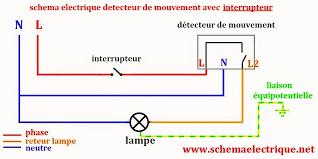 Exceptional Schema Branchement Detecteur De Mouvement Legrand Nouveau Schema Electrique  Eclairage Exterieur Maison Design Apsip