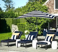 stirring blue patio umbrella with white pole image design