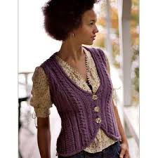 Free Knitted Vest Patterns Awesome BULKY KNIT VEST PATTERN Patterns Gallery