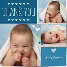 Baby Boy Thank You Cards 50 Off Personalised Baby Thank You Cards Optimalprint
