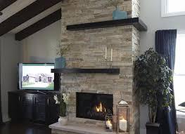basements photos linear modern corners fireplace mantels tile room ideas outdoor design gas insert pictures living