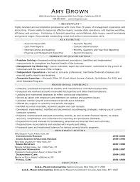 Top Rated Accounting Job Resume Accounting Resume Objective Senior ...