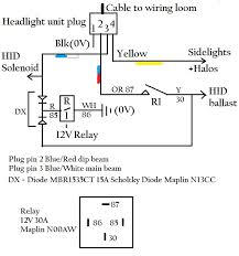 triumph tiger headlight mods please note the above diagram is basically done to provide protection for the hid lamps they do not like being switched on then off very quickly