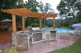 Outdoor Kitchen Roof Outdoor Kitchen Designs With Roof Solid Wood Roofing Outdoor