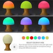 ikea childrens lighting. LEDemain Children\u0027s LED Beside Lamp Color Changing Mushroom Night Light / Mood Reading For Baby Kids BedRoom (Build-in 1200MAH Battery, Ikea Childrens Lighting