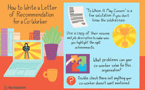 Letter Of Recomendation Example How To Write A Letter Of Recommendation