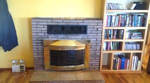 can i replace a gas fireplace with wood burning stove my installation diagram insert replace