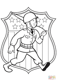 World War 2 American Soldier coloring page | Free Printable ...