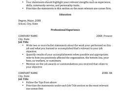 cover letter template intern resume template beautiful college internship resume templates