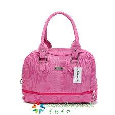 In Pink Coach Madison Embossed Medium Satchels